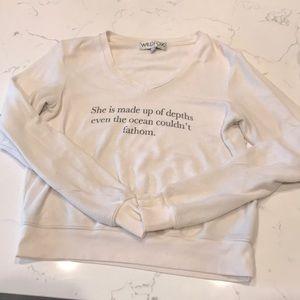 Wild fox XS sweater